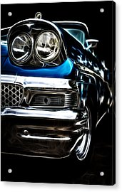 1958 Ford Fairlane Acrylic Print by motography aka Phil Clark