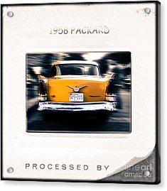 1958 Packard Acrylic Print by Steven Digman