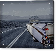 1959 Cadillac Eldorado Cool Night Acrylic Print