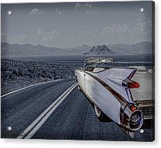 1959 Cadillac Eldorado Cool Night Acrylic Print