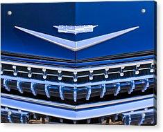 1959 Cadillac Eldorado Hood Ornament Acrylic Print by Jill Reger