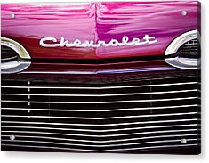 1959 Chevy Biscayne Acrylic Print by David Patterson