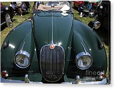 1959 Jaguar Xk150 Dhc 5d23302 Acrylic Print by Wingsdomain Art and Photography