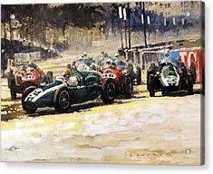 1959 Monaco Gp  #24 Cooper Climax T51 Jack Brabham Winner  Acrylic Print