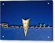 1959 Pontiac Bonneville Emblem Acrylic Print