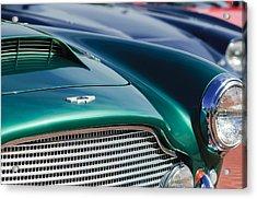 1960 Aston Martin Db4 Series II Grille - Hood Emblem Acrylic Print by Jill Reger