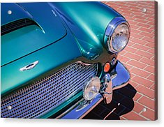 1960 Aston Martin Db4 Series II Grille Acrylic Print by Jill Reger