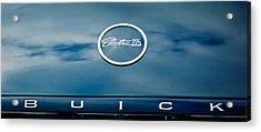 1960 Buick Electra Convertible Hood Emblem Acrylic Print