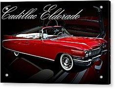 1960 Cadillac Convertible El Dorado  Acrylic Print