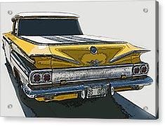 1960 Chevrolet El Camino Acrylic Print