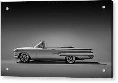 1960 Impala Convertible Coupe Acrylic Print by Douglas Pittman