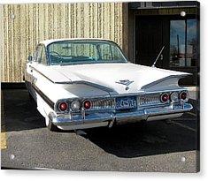 1960 Impala Acrylic Print by Steven Parker