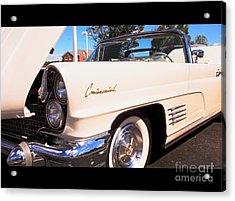 1960 Lincoln Continental Convertible Acrylic Print