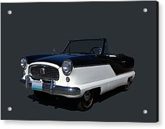 Acrylic Print featuring the photograph 1960 Nash Metropolitan by Tim McCullough