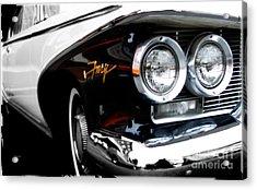 1960 Plymouth Fury  Acrylic Print by Steven Digman
