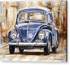 1960 Volkswagen Beetle Acrylic Print