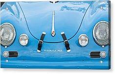 1960 Volkswagen Porsche 356 Carrera Gs Gt Replica  Acrylic Print by Jill Reger