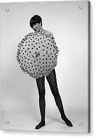 1960s Full-length Portrait Of Short- Acrylic Print