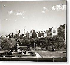 1960s Skyline Philadelphia Pennsylvania Acrylic Print