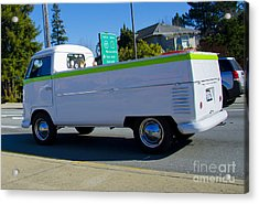 1960's Vw Truck  Acrylic Print by Aaron Fromenthal