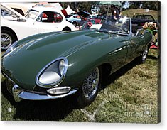 1961 Jaguar Xke Roadster 5d23323 Acrylic Print by Wingsdomain Art and Photography