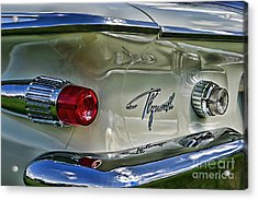 1961 Plymouth Fury Acrylic Print by Paul Ward