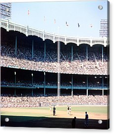 1961 World Series Acrylic Print by Retro Images Archive