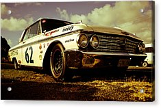 1962 Ford Galaxie 500 Acrylic Print by Phil 'motography' Clark