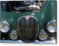 1962 Jaguar Mark II 5d23327 Acrylic Print by Wingsdomain Art and Photography