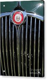 1962 Jaguar Mark II 5d23329 Acrylic Print by Wingsdomain Art and Photography