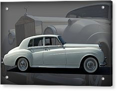 Acrylic Print featuring the photograph 1962 Rolls Royce Silver Cloud by Tim McCullough