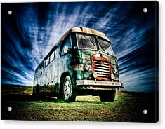 1963 Bedford Motorhome Acrylic Print by Phil 'motography' Clark
