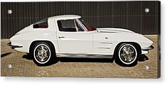 1963 Chevrolet Corvette Split Window -575c Acrylic Print by Jill Reger