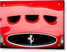 1963 Ferrari 250 Gto Grille Emblem -1753c Acrylic Print