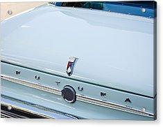 1963 Ford Falcon Futura Convertible  Rear Emblem Acrylic Print