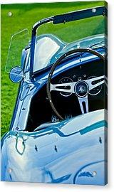 1964 Ac Shelby Cobra 289 Steering Wheel Emblem Acrylic Print