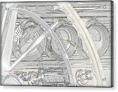 1964 Bonneville.....dash Acrylic Print
