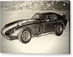 1964 Cobra Daytona Coupe Acrylic Print