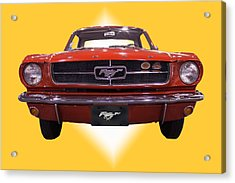 1964 Ford Mustang Acrylic Print