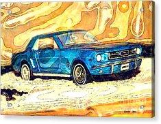 1964 Ford Mustang Acrylic Print