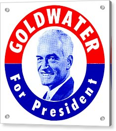1964 Goldwater For President Acrylic Print