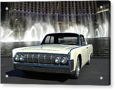 1964 Lincoln Continental Acrylic Print by Tim McCullough