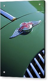 1964 Morgan 44 Hood Ornament Acrylic Print by Jill Reger
