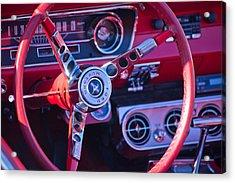 1964 Mustang Interior Acrylic Print