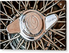 1964 Shelby 289 Cobra Wheel Emblem -0666c Acrylic Print