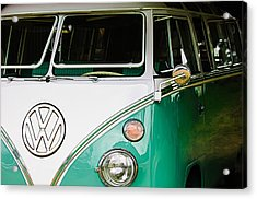1964 Volkswagen Vw Samba 21 Window Bus Acrylic Print