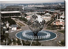 1964 Worlds Fair New York City Acrylic Print by Kevin Snider