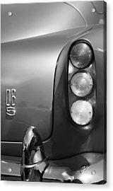 1965 Aston Martin Db5 Coupe Rhd Taillight Acrylic Print by Jill Reger