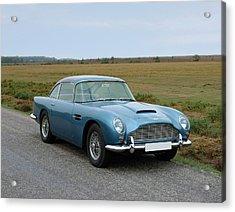 1965 Aston Martin Db5 Gt Vantage Acrylic Print by Panoramic Images