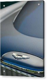 1965 Aston Martin Db5 Sports Saloon Emblem Acrylic Print by Jill Reger